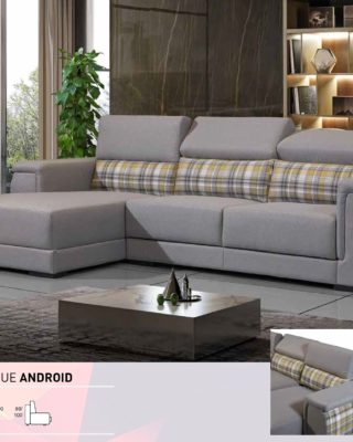 Sofá tipo chaiselongue, modelo Android